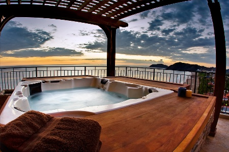 Privacy in the Hot Tub